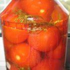 Готовим на зиму маринованные помидоры
