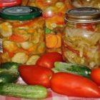 Самые популярные рецепты салатов на зиму