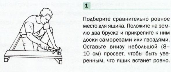 Изготовление компостного ящика-1
