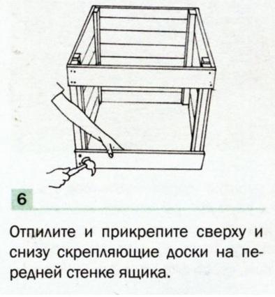 Изготовление компостного ящика-6