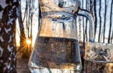 Заготовки на зиму березового сока