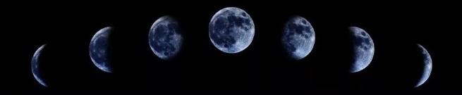 Изменение фаз Луны в июле